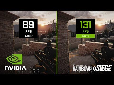 Rainbow Six Siege | 4K NVIDIA DLSS Comparison