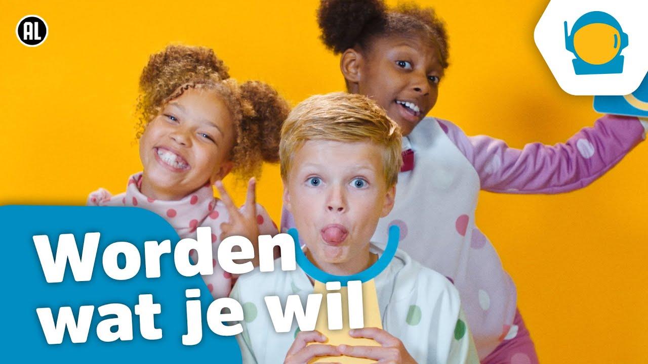 Download Kinderen voor Kinderen - Worden wat je wil (Officiële Kinderboekenweek videoclip)