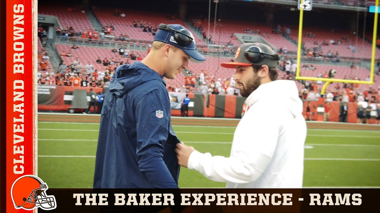 The Baker Experience Vs Rams Week 3 Cleveland Browns