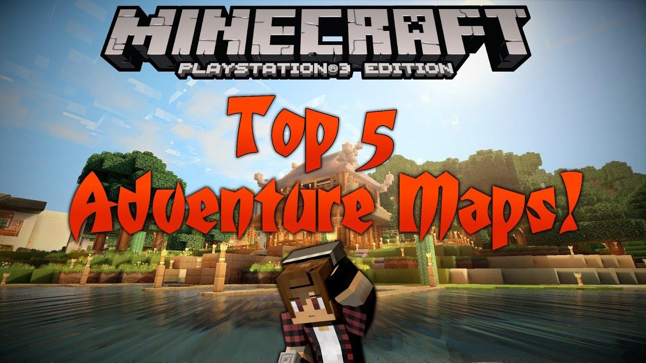 Minecraft PS Top Adventure Puzzle Maps PSPSVita YouTube - Minecraft maps fur kinder