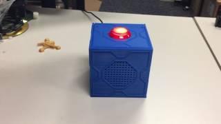 Mr. Meeseeks Box + Google AIY Voice Kit