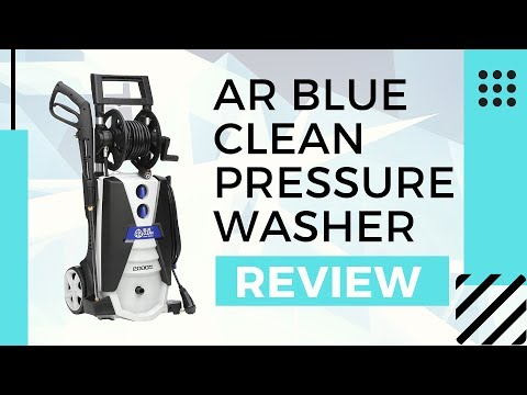 AR Blue Clean Pressure Washer Review - Best AR390SS Electric Pressure Washer