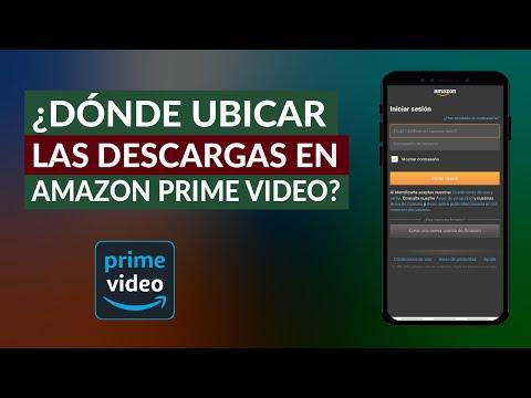 Donde se Guardan las Descargas que hago en Amazon Prime Vídeo