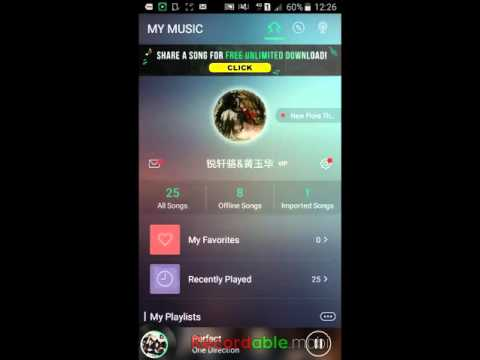 How to listen to a song in JOOX