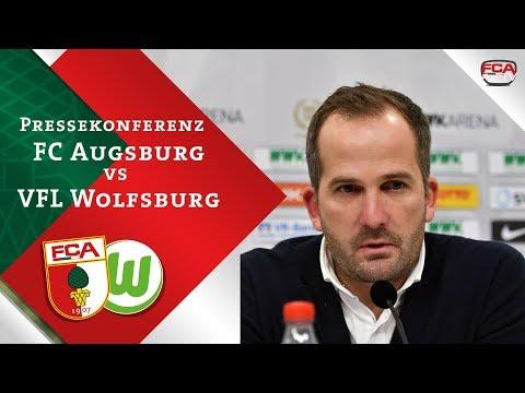 18/19 // Pressekonferenz // FCA verliert gegen Wolfsburg
