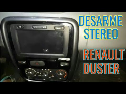 DESARMAR RENAULT DUSTER STEREO STEREO DESARMAR CBerxdo