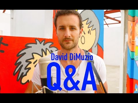 Q&A - YOUR QUESTIONS ...ANSWERED - David DiMuzio