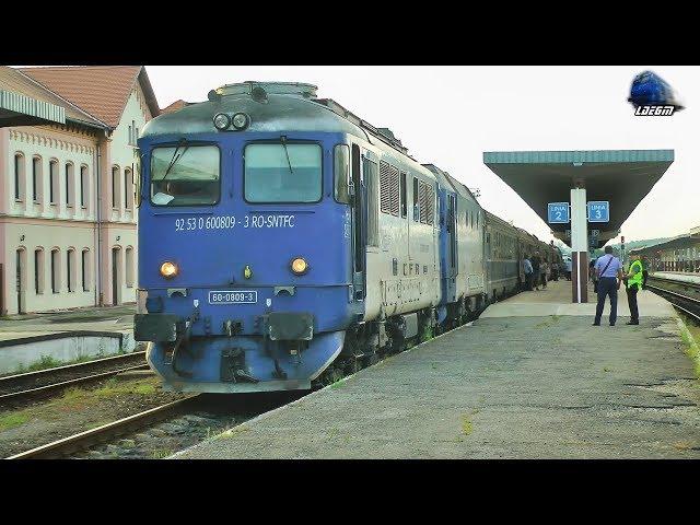 Trenuri & Activitate Feroviara/Trains & Rail Activity in Gara Oradea Station - 18 July 2018