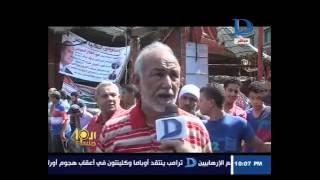 العاشرة مساء  حريق هائل بأسواق تحيا مصر بالمحلة.. والمواطنون: ده بفعل فاعل