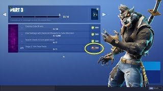 How to get 35 free tiers on Fortnite Season 6 Part 3 Challenges (GLITCH)