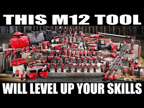 Milwaukee M12 TOOL WILL TAKE YOUR SKILLS TO THE NEXT LEVEL! (one of my favs)