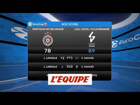L'Asvel s'impose à Belgrade - Basket - Eurocoupe (H)