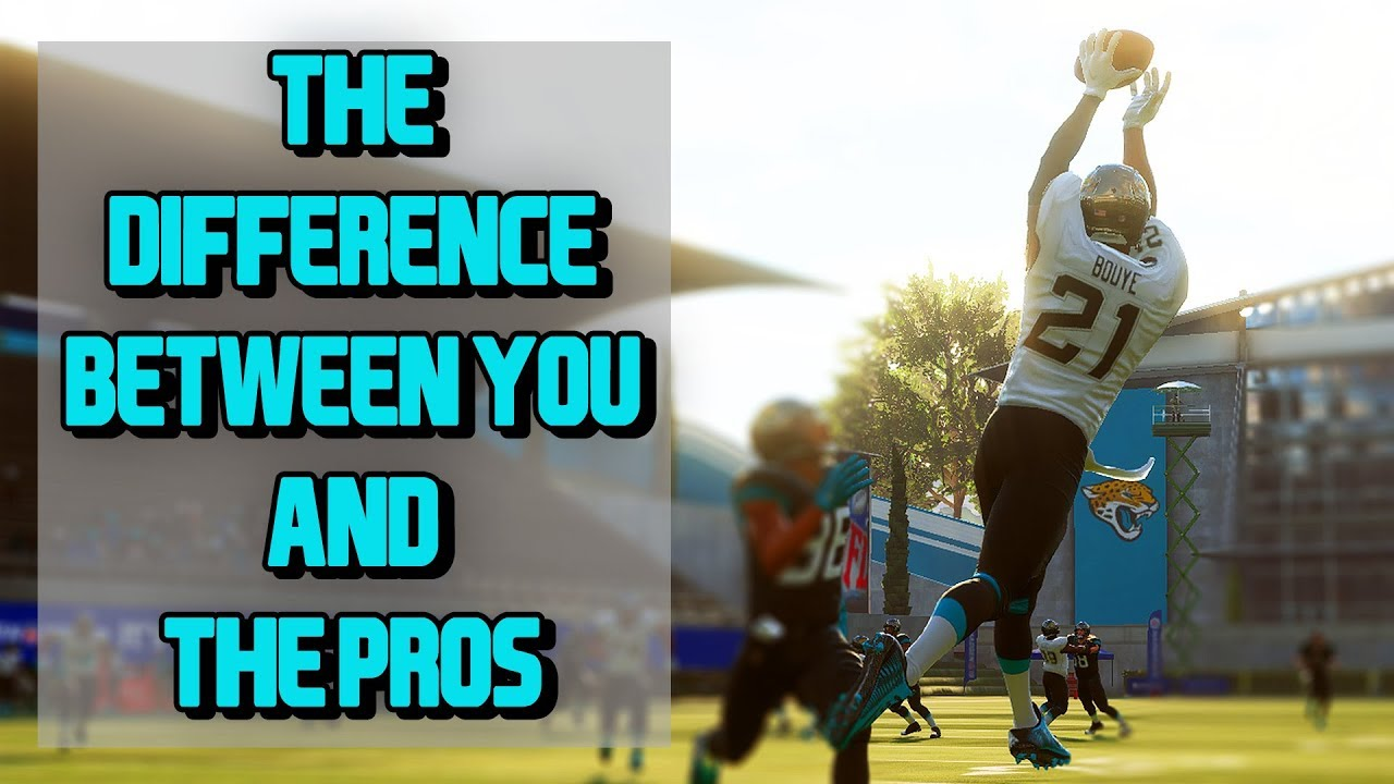 THE ONE THING YOU AREN'T DOING TO MAKE YOU BETTER AT MADDEN!!! MUST WATCH