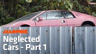 Abandoned Lotus Esprit    Hong Kong's Amazing Neglected Cars - Part 1