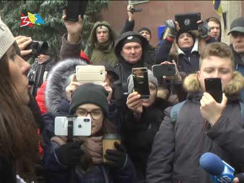 ТРК НИС-ТВ: Объектив 20 03 18Митинг за отставку Савченко