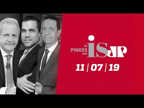 Os Pingos Nos Is - 11/07/19 - Destaques da Previdência / Glenn ataca Moro / Congresso da UNE