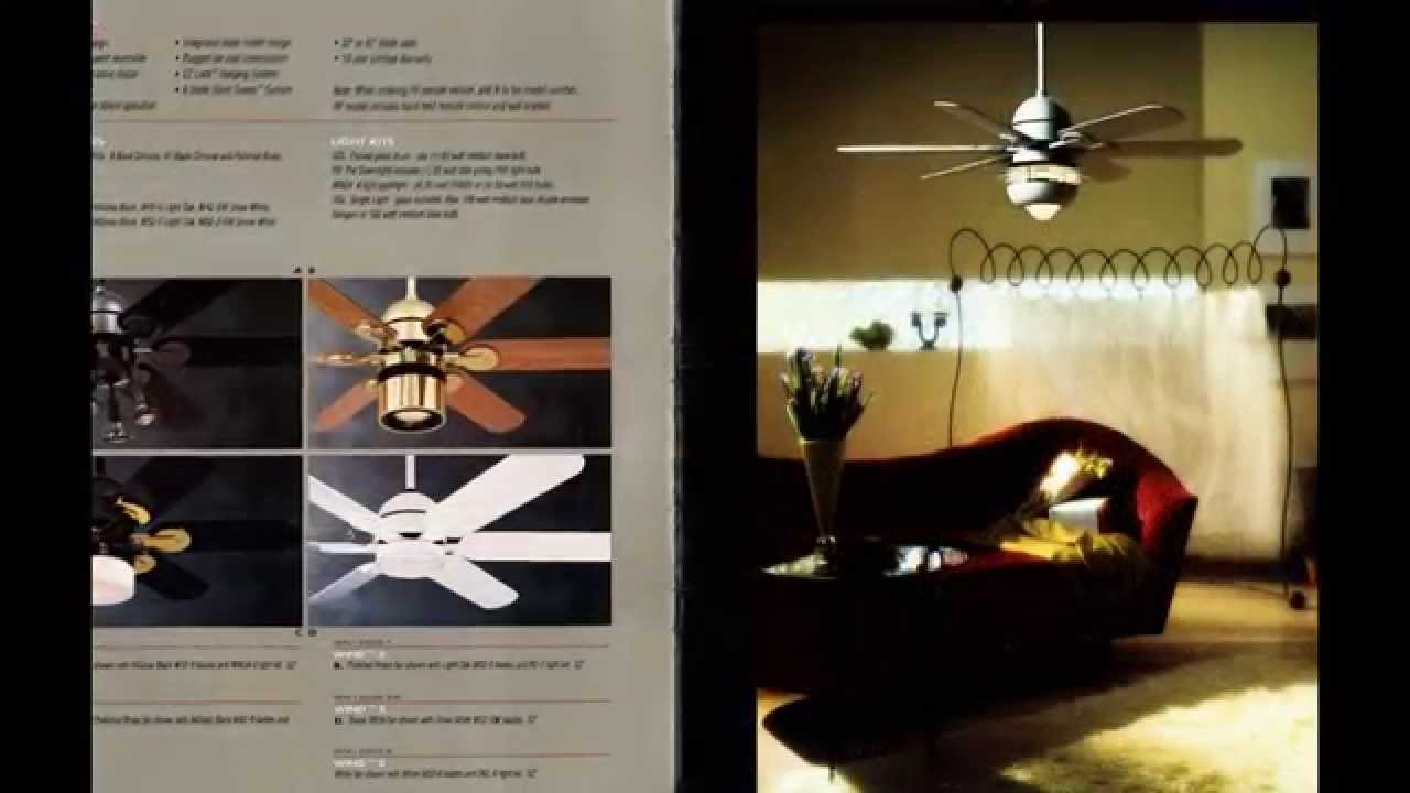 Homestead Ceiling Fan Catalog From 1993 Youtube