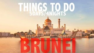 Adventure in Brunei 5D/4N (Bandar & Ulu Ulu Temburong)  with Royal Brunei Airlines