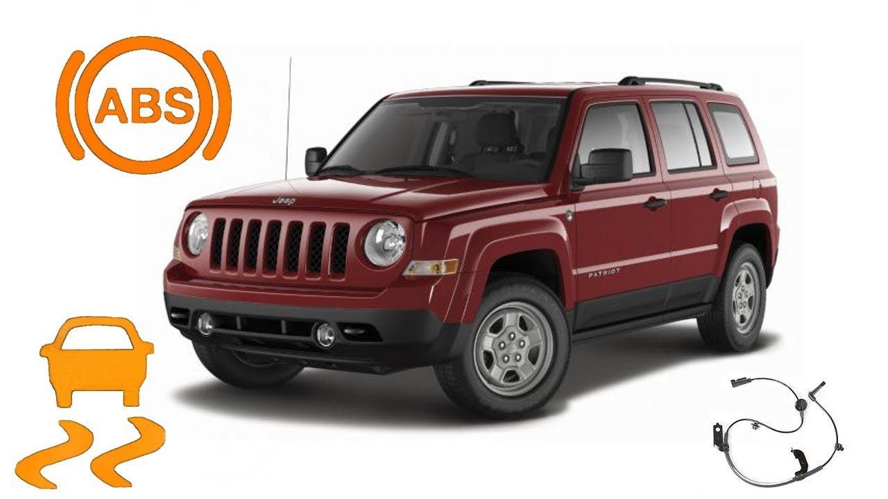 medium resolution of 2012 jeep patriot abs wheel speed sensor replacement