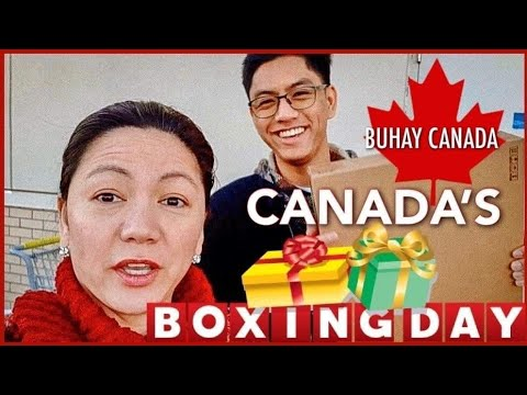 Boxing Day Shopping  In Canada