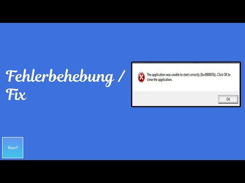 Full And Final Solution To Fix Error 0xc000007b All Windows 7 8 10