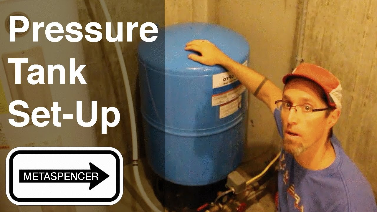 Plumbing from Well➠Pressure Tank➠Heater➠PEX Manifold