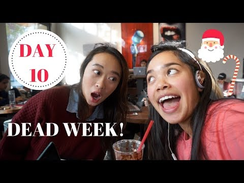 Being Exhausted, Studying, and Cooking aka COLLEGE | VLOGMAS DAY 10- 2017