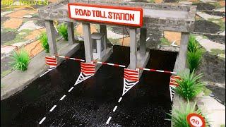 Mr Truyen / Construction of Mini Road Toll Station Part 4