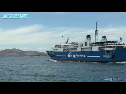 POSEIDON HELLAS - Departure from the port of Piraeus (Greece)