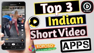 TOP 3 Short Video Apps | Indian Short Video Apps like Snack Video | Alternative Apps Of Snack Video screenshot 4