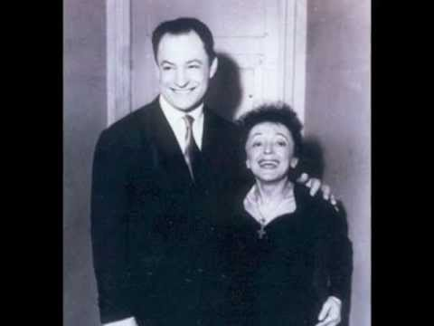 Edith Piaf et Charles Dumont - LES AMANTS - Charles Dumont et Edith Piaf