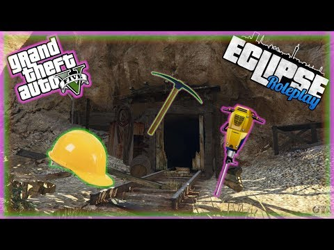 Testing Out The NEW Mining Job! | GTA RP (Eclipse Roleplay)