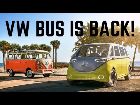 VW's bus is back! And it's electric: I.D. BUZZ