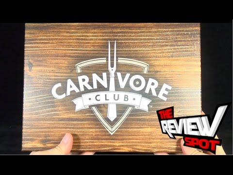 Subscription Spot - Carnivore Club October 2014 Subscription Box OPENING!