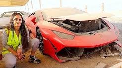 BUYING A CRASHED LAMBORGHINI IN DUBAI !!!