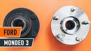 Como substituir a rolamento da roda traseira no FORD MONDEO 3 [TUTORIAL]
