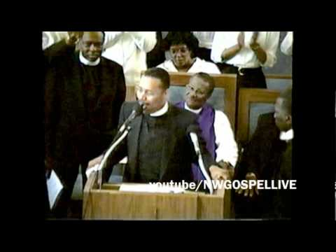 WA State COGIC 1991 Convocation Communion Service Pastor Sam Townsend preaches part 2