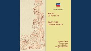 Berlioz Les Nuits D été Op 7 3 Sur Les Lagunes