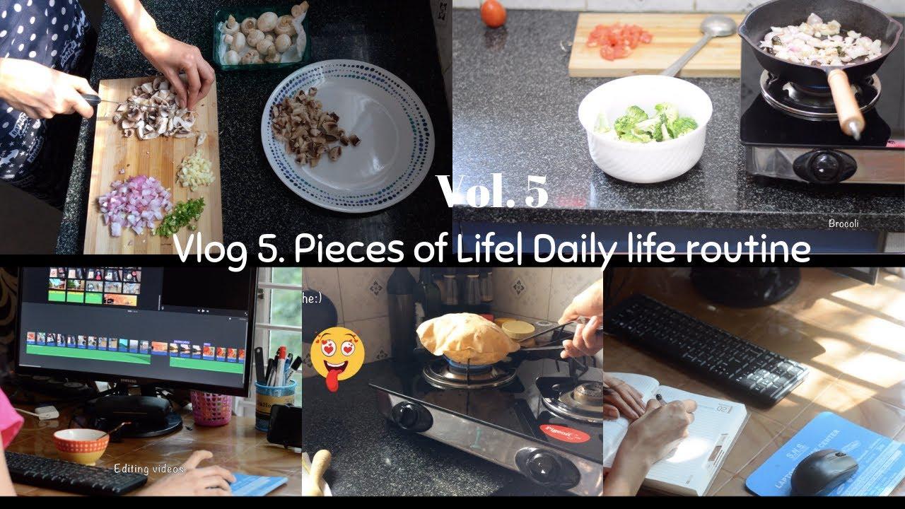 Vlog 5| Daily Life routine| Making Ice Cream with 2 ingredients| MTR Badam  drink mix recipe| Burrito