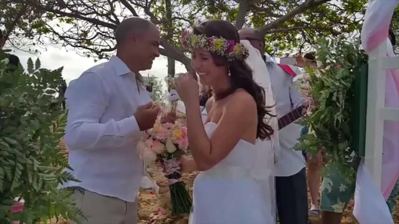 Yes I Do Hawaiian Weddings Presents Casal Manoel E Priscila