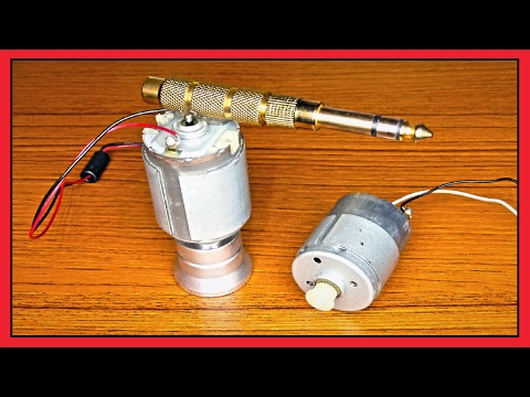 █ 3 Awesome Ideas with DC motor █