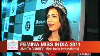 Femina Miss India 2011: Winning moments
