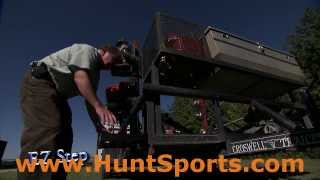 Trailer Step Up Portable Hunting Blind Easy Ez Step Sport Truck Hunt Trailer Accessory Gear