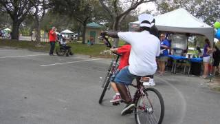 Buddy Bike at Access Life 2014 - special needs family event - Pembroke Pines, FL
