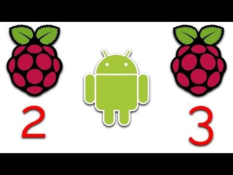 Raspberry Pi 2, 3 & CM3 Running Android Nougat