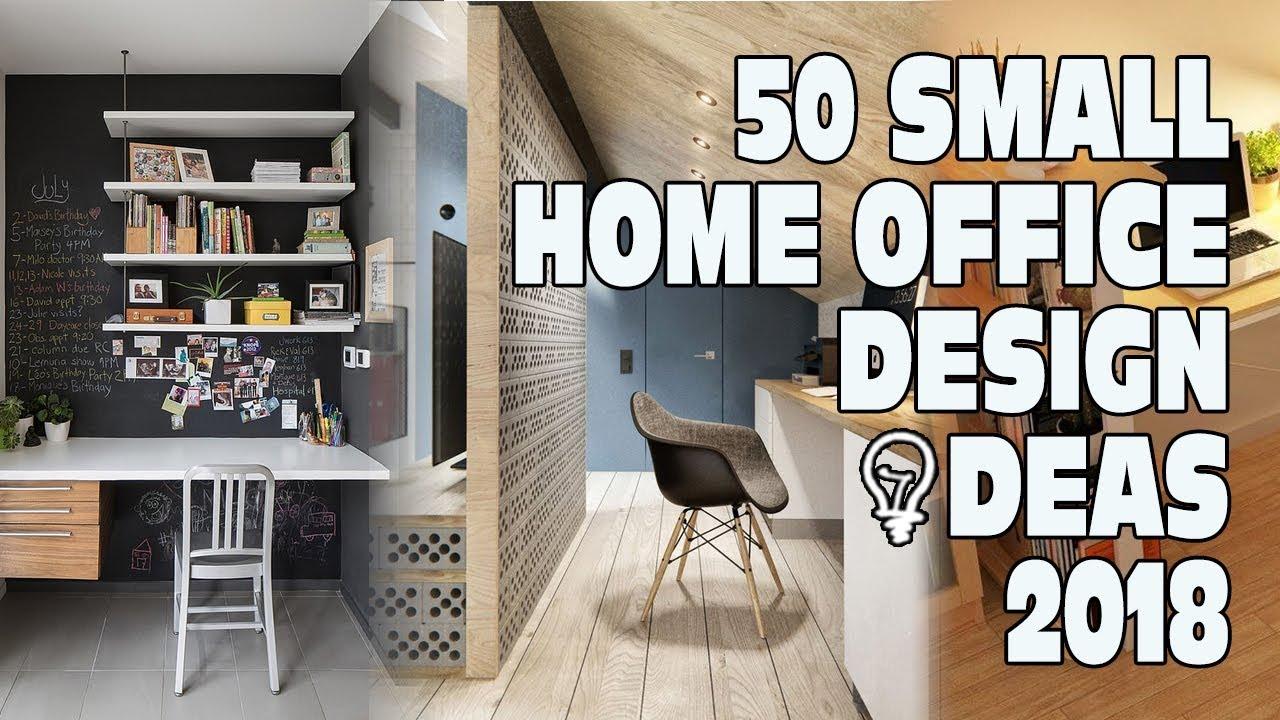 50 Small Home Office Design Ideas 2018