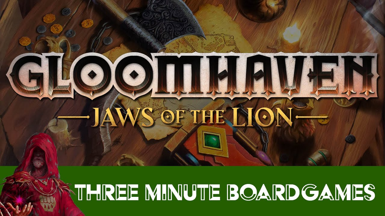 Gloomhaven Jaws of the Lion in about 3 minutes