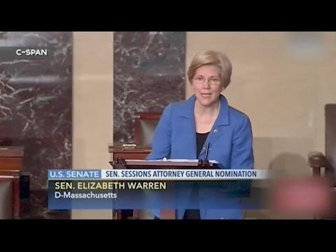 Sen. Elizabeth Warren Silenced For Reading Coretta Scott King