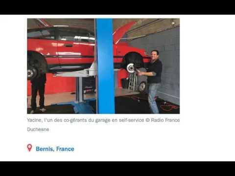 Le self-garage Self Auto Repar sur France Bleu ! Cliquez sur le lien pour écouter