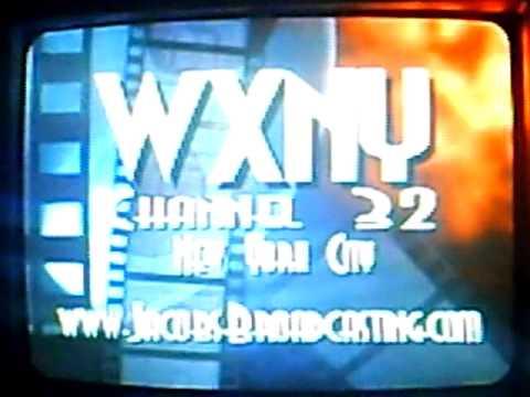 WXNY channel 35 New York City (station ID#1 digital) 2010